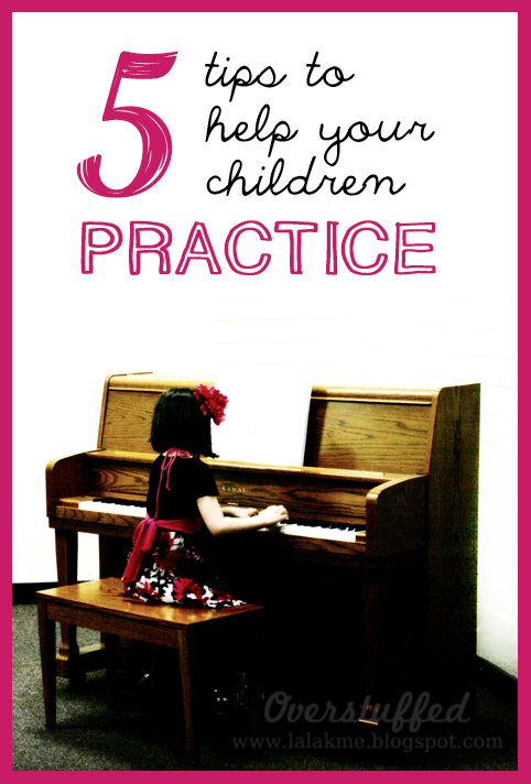 5 great ways you can help your child get the most out of practicing their musical instruments.