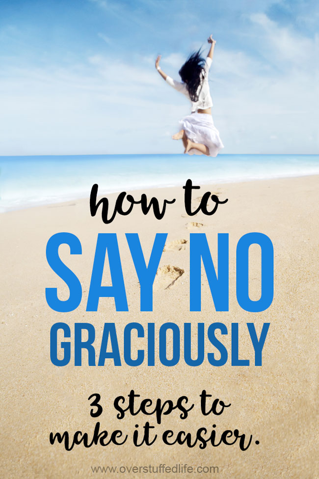 How to say no without feeling ashamed