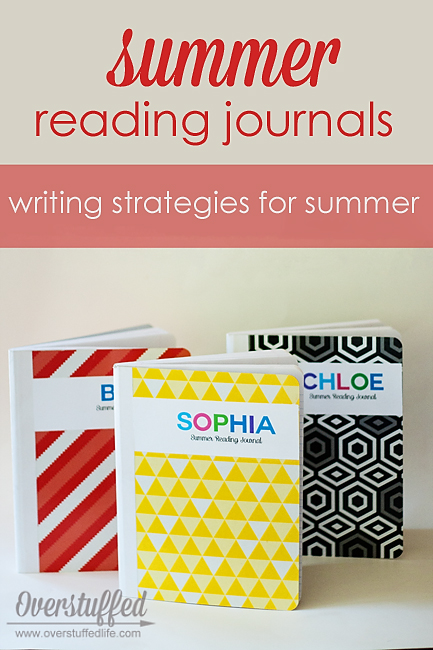 Writing exercises for your kids to do along with their summer reading.