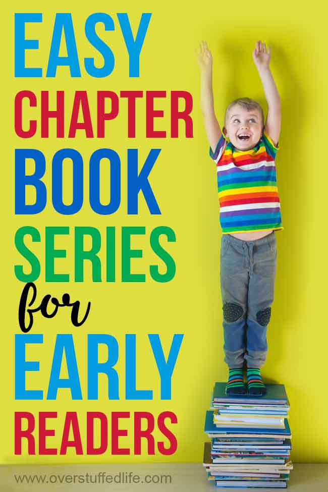 Is your child ready to take on some easier chapter books? Here is a great list of some series for readers in first, second, and third grades that you may not have heard of before.