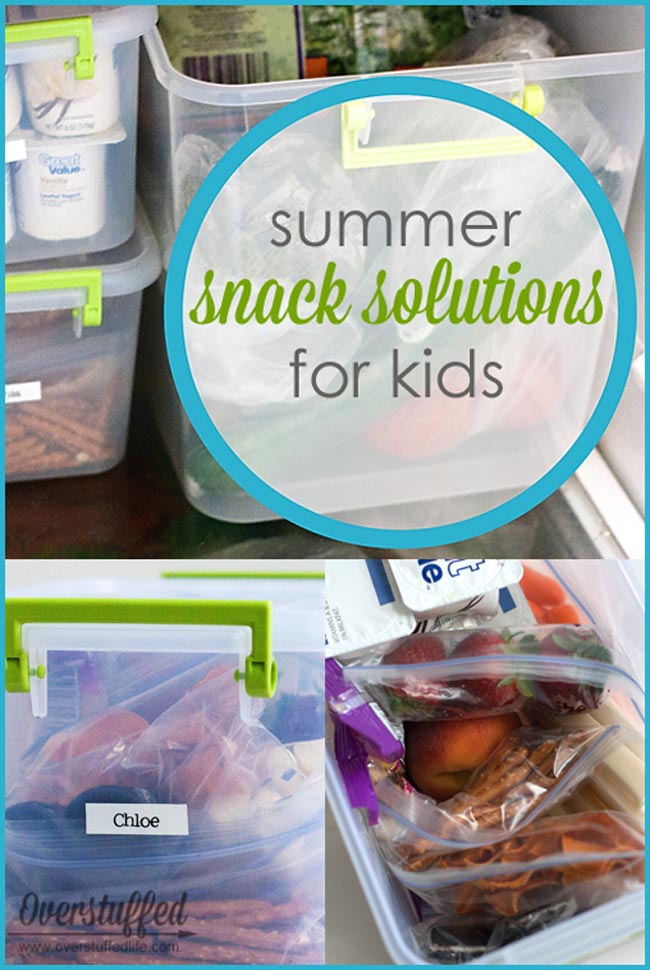 Do your kids eat everything in the house on long summer days? Here is one solution to both help them monitor how much they are eating on their own AND save you from running to the grocery store every two days!