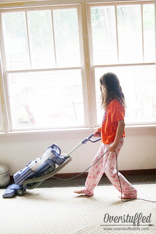 how to get your children to do chores