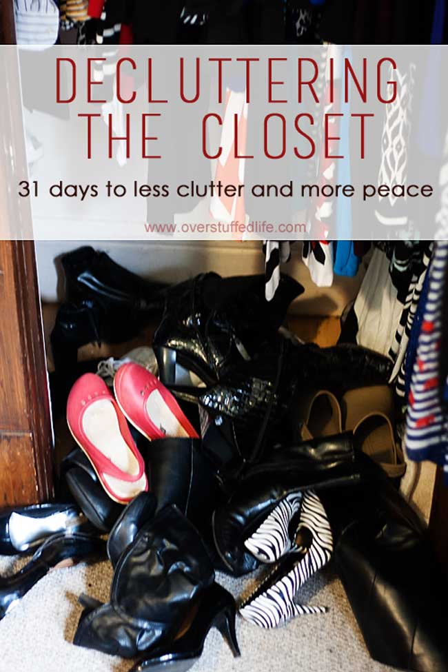 Decluttering your closet often is a great way to keep your home free of clutter. Be sure to honestly answer the decluttering questions and you will be able to get rid of even more.