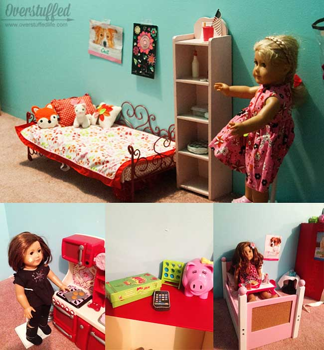 Help your kids to organize their toys so they are easy to keep picked up and put away when not in use.