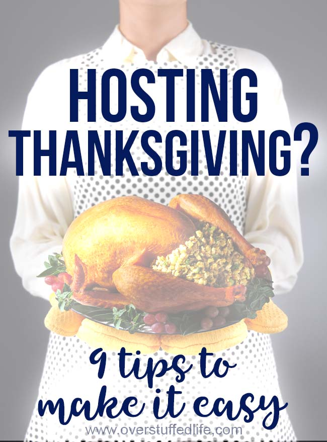 Are you hosting Thanksgiving this year? Planning Thanksgiving dinner for a large group can be stressful, but these tips will make it easy and enjoyable.