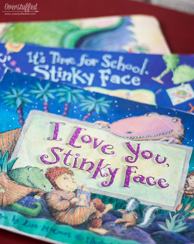 I Love You Stinky Face is a beloved children's book that your kids will want you to read again and again.