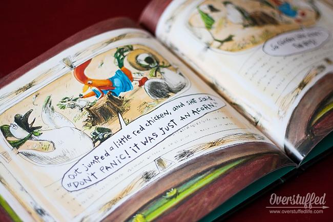 Interrupting Chicken is a fun children's story about a little chicken who won't stop interrupting her bedtime stories. Kids will enjoy it!