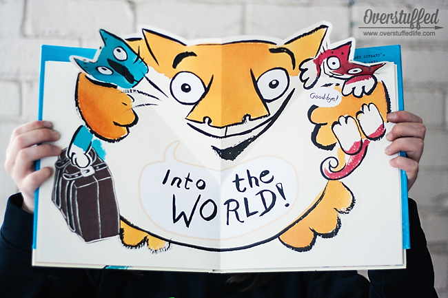 There are Cats in This Book and There are No Cats in This Book are fun picture books for younger readers. They are very interactive and children will have a lot of fun reading them.