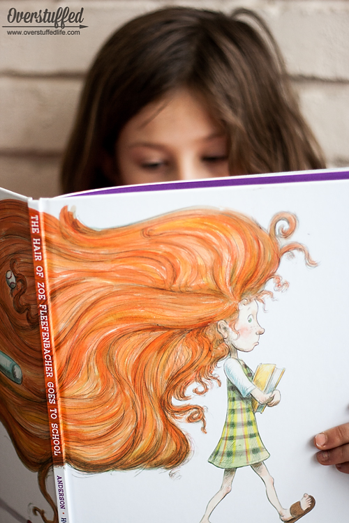 The Hair of Zoe Fleefenbacher is a little bit wild, and her teacher doesn't like it. Kids will love finding out how teacher and Zoe's hair can strike a compromise. Fun illustrations!
