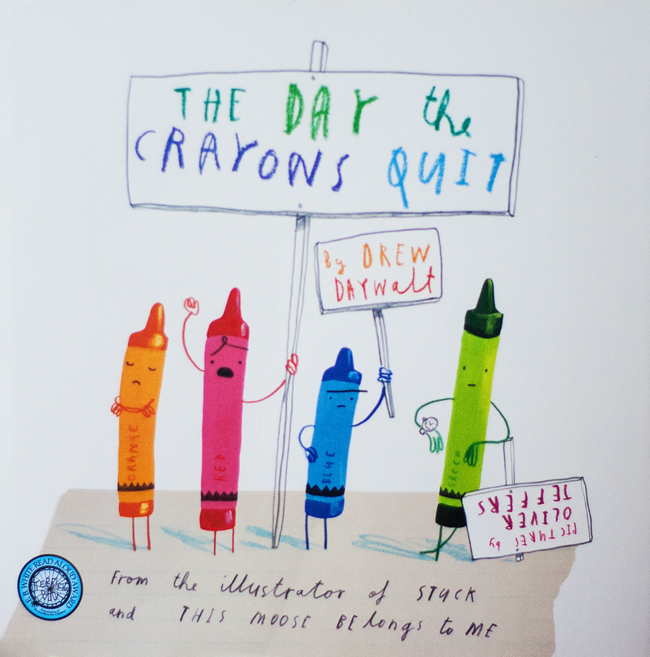 If your child loves coloring, they will love this book. The Day the Crayons Quit is a fun story about overworked crayons and creativity.
