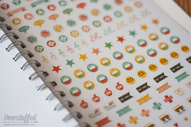 The Home Executive Planner: Stickers