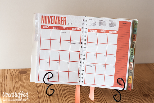 The Home Executive Planner: Monthly View