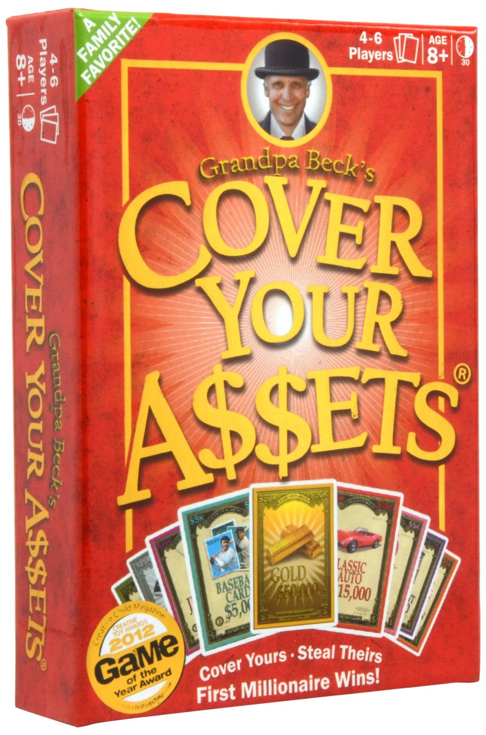 Cover your Assets is a fun family card game that the entire family will enjoy.
