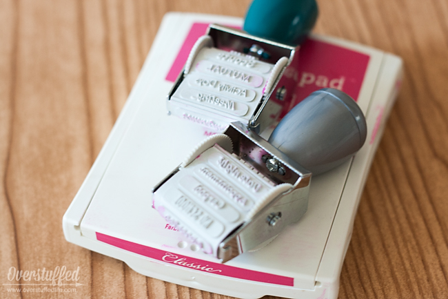 Planner Stampers make your planning more effective, and a lot quicker!