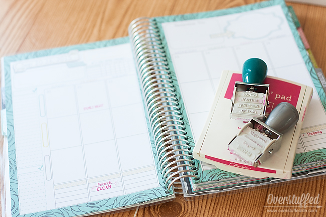 Make your planning sessions faster and more thorough with stamps