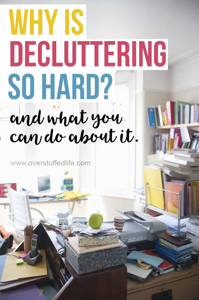 A simple question to ask yourself when you find it difficult to let go of the items that are cluttering your life. Declutter once and for all!