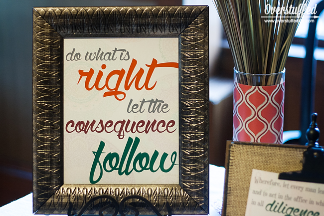 Do what is right let the consequence follow free printable