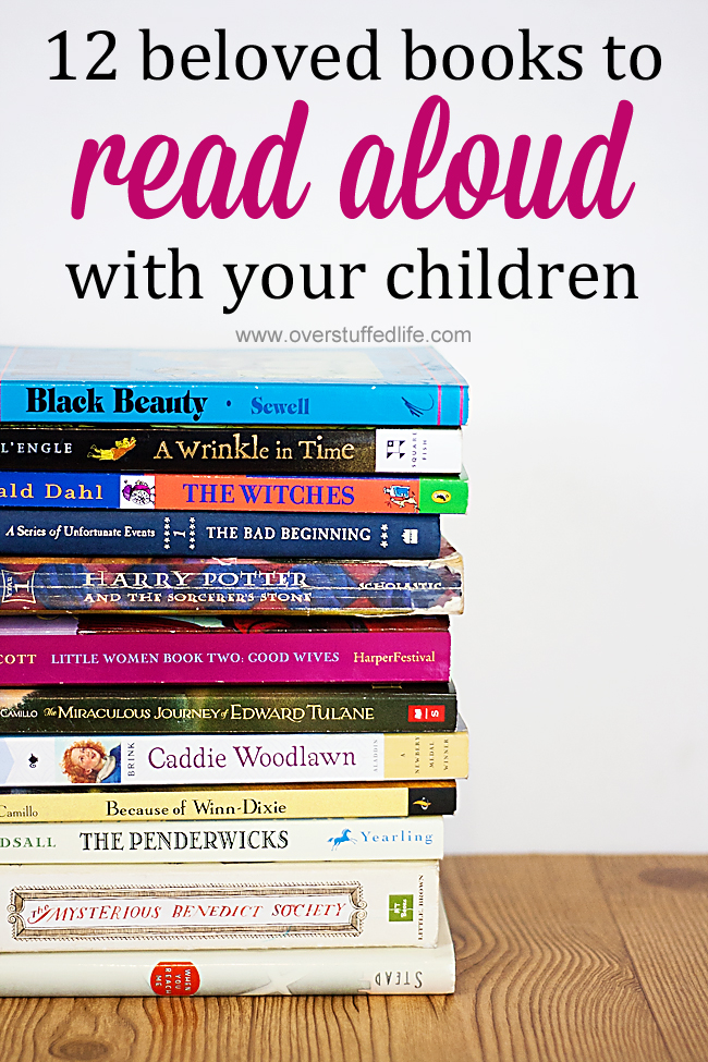 Looking for something to read to your kids? Why not look at all the classic books you loved as a child, plus a few newer ones that are destined to become classics?