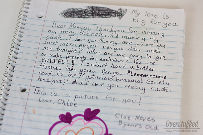 Build your relationship with your children with a pen pal journal