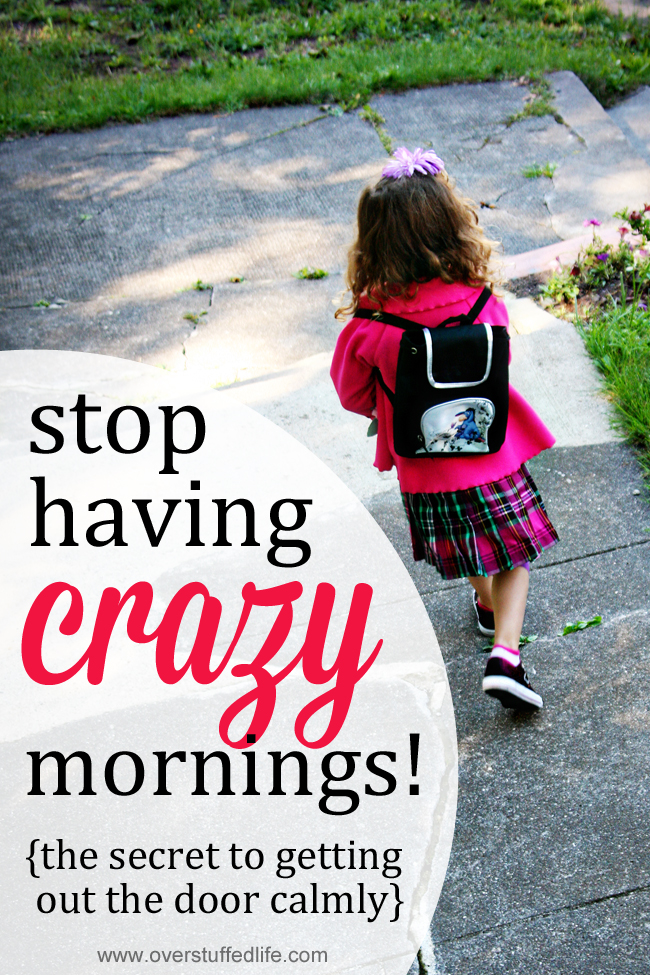 The secret to making school mornings easier. If you and your kids are always running late on school mornings, try downloading this printable checklist and make those mornings easy and calm!
