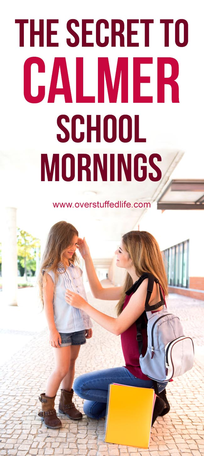 Easier school mornings are just a click away—download this printable checklist that will help you and your kids have calmer school mornings. Less stress for everyone!