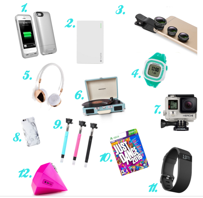 Electronics gifts that teen girls will love! #overstuffedlife