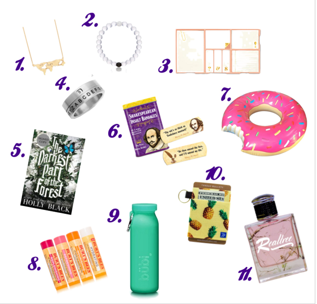 Fun gifts for the teenage girl. #overstuffedlife