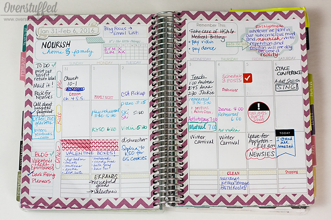 Want to have a cuter planner but don't think it's super practical to decorate with washi tape and sticker? Here are some ideas for using these items practically.
