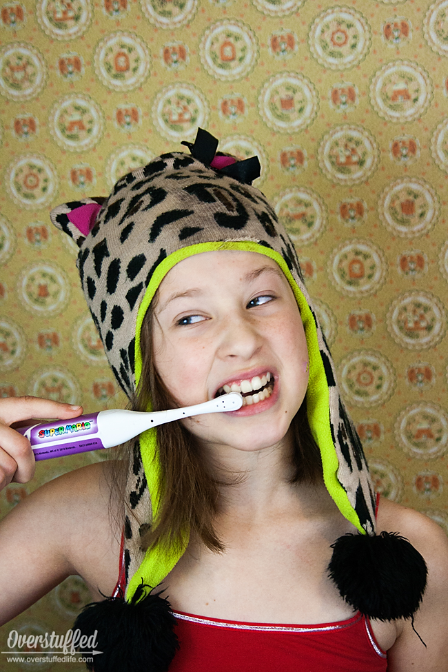 Kids should be brushing their teeth for at least two minutes. With this simple trick, that will be no problem!