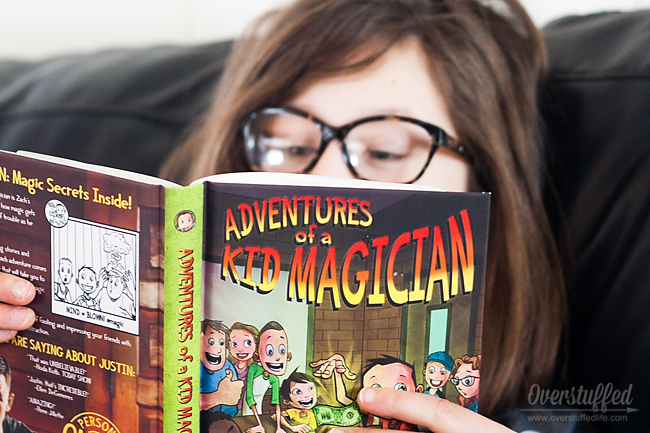 Adventures of a Kid Magician is a new book that will appeal to kids who enjoy reading Dork Diaries and Diary of a Wimpy Kid