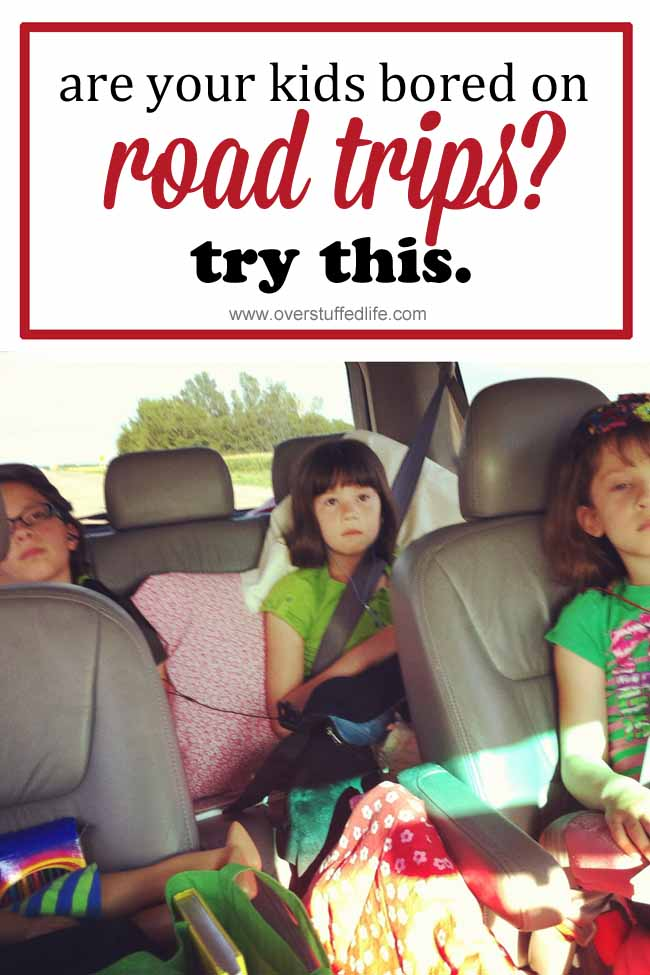 Road trips can be long and boring for kids. Make them memorable with this fun vacation journal idea. They'll love it! #overstuffedlife