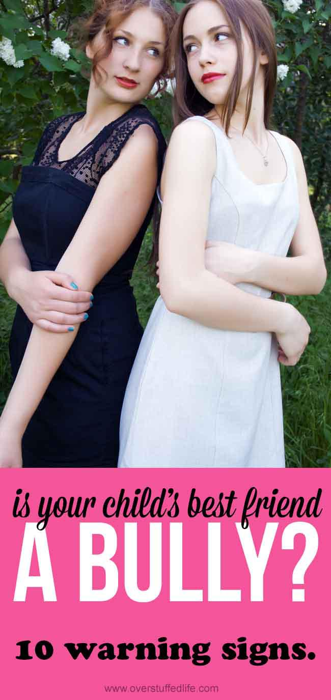Child's best friend is actually a bully | Child has toxic friendship | bully prevention | my child is being bullied by a friend | cyberbullying | warning signs of bullying | negative friendship | how to get rid of a toxic friend