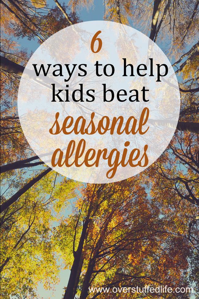 Allergy season tips for kids