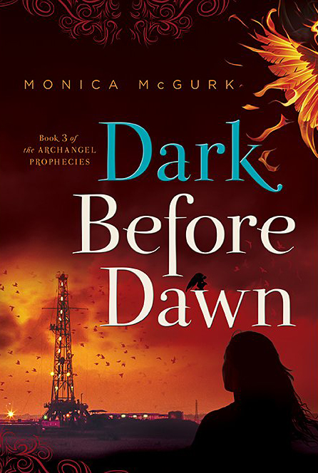 A book review of Dark Before Dawn by Monica McGurk. This book completes the Archangel Prophesies Trilogy..