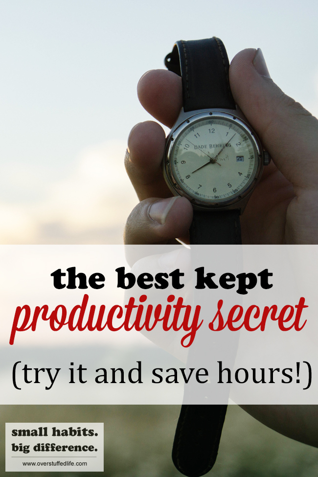 Batch processing is the best way to save time and be more productive.