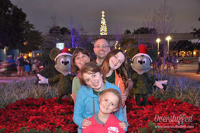 One of the best reasons to visit a Disney property during Christmas is the amazing decorations and shows they put on!