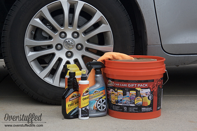 Purchase the Armor All Car Care gift pack at walmart