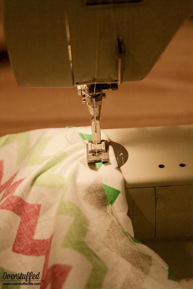 How to sew a Santa Bag