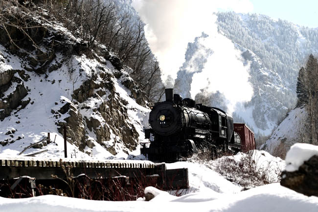 Heber Creeper | Heber Valley Railroad | winter activities