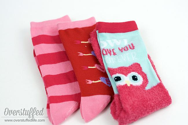 Valentine's Day printable | valentine | valentine socks | We make a great pair | free printable download | classroom valentine idea for kids | DIY Valentine idea