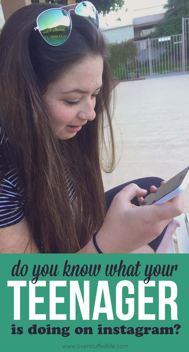 Are you sure you know what your teeanger is doing on Instagram? | finsta | rinsta | Instagram spam | parenting | talking to kids about social media | internet use | how to monitor kids and teens online | cell phone contract