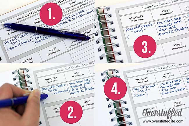 Pilot Frixion Erasable Gel Pen | Perfect erasable pen for planners