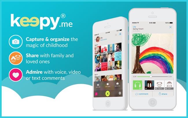 keepy app | ideas for saving kid's artwork