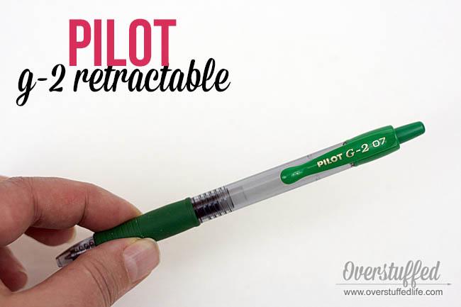 Best gel pens to use in paper planner