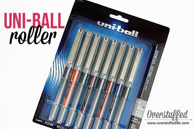 Uniball vision needle | best pens to use in paper planning