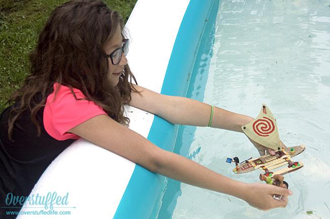 Disney Princess Moana's Ocean Voyage LEGO set