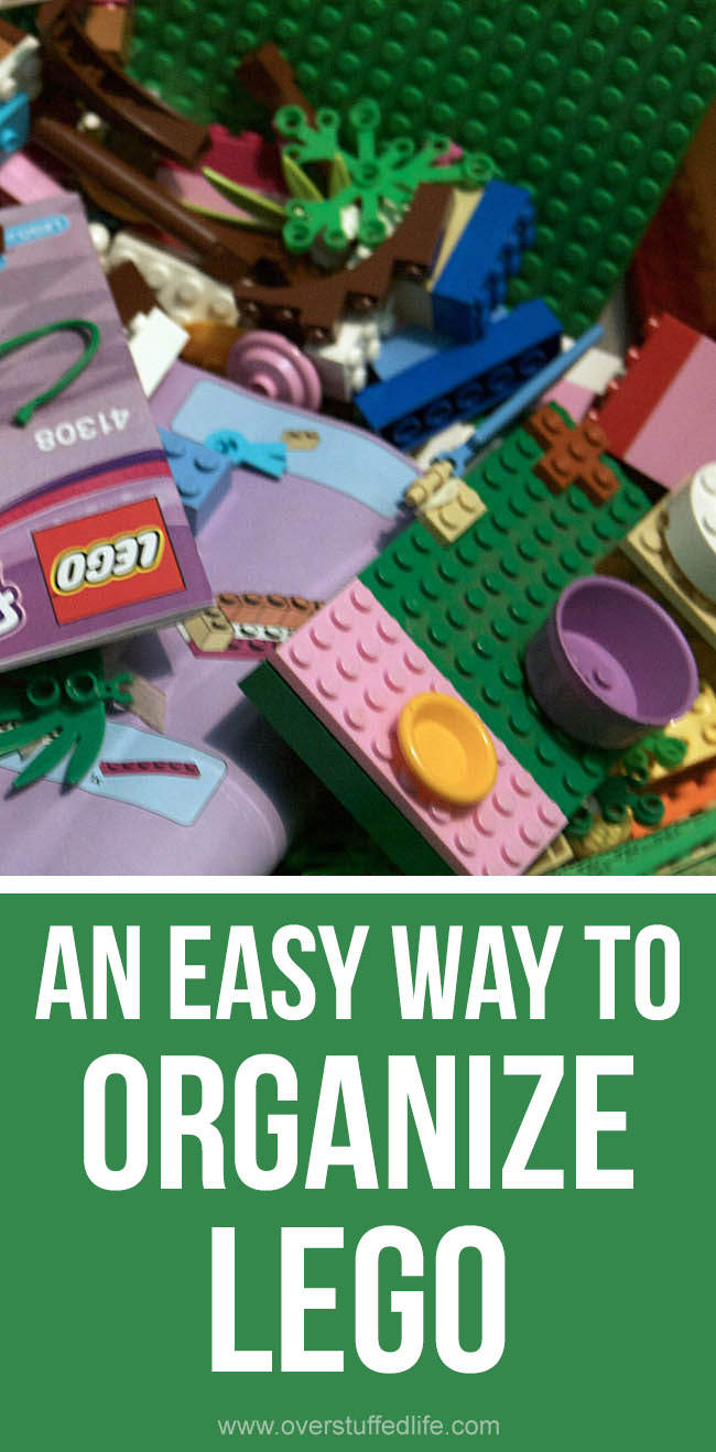 Figuring out how to sort and organize your LEGO is overwhelming! Here's one simple organization idea that worked for us.