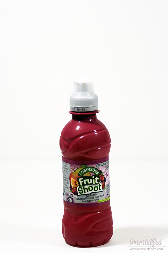Fruit shoot--best choice drink for your kids' lunchbox!