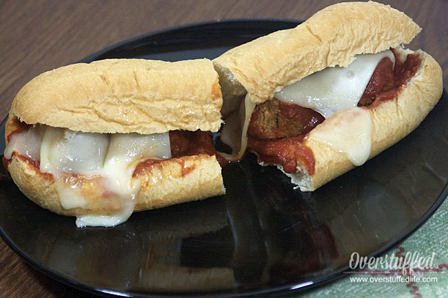 Easy meatball sub sandwiches using Cooked Perfect meatballs. Perfect for busy days.