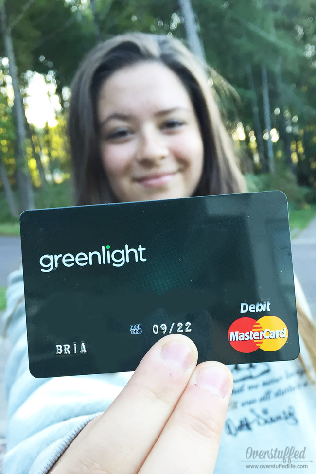 Greenlight is a debit card that gives teens and younger kids independence while keeping parents in control. It's a great tool for teaching kids how to manage their money.